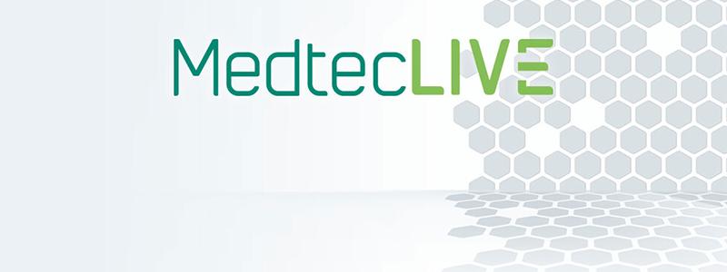 Banner MedtecLIVE 2020