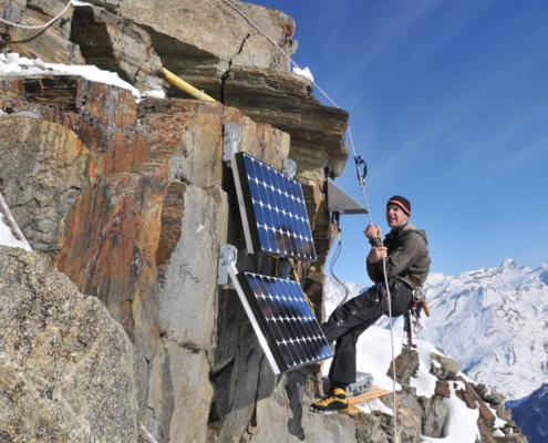 PermaSense - Matterhorn Instalation