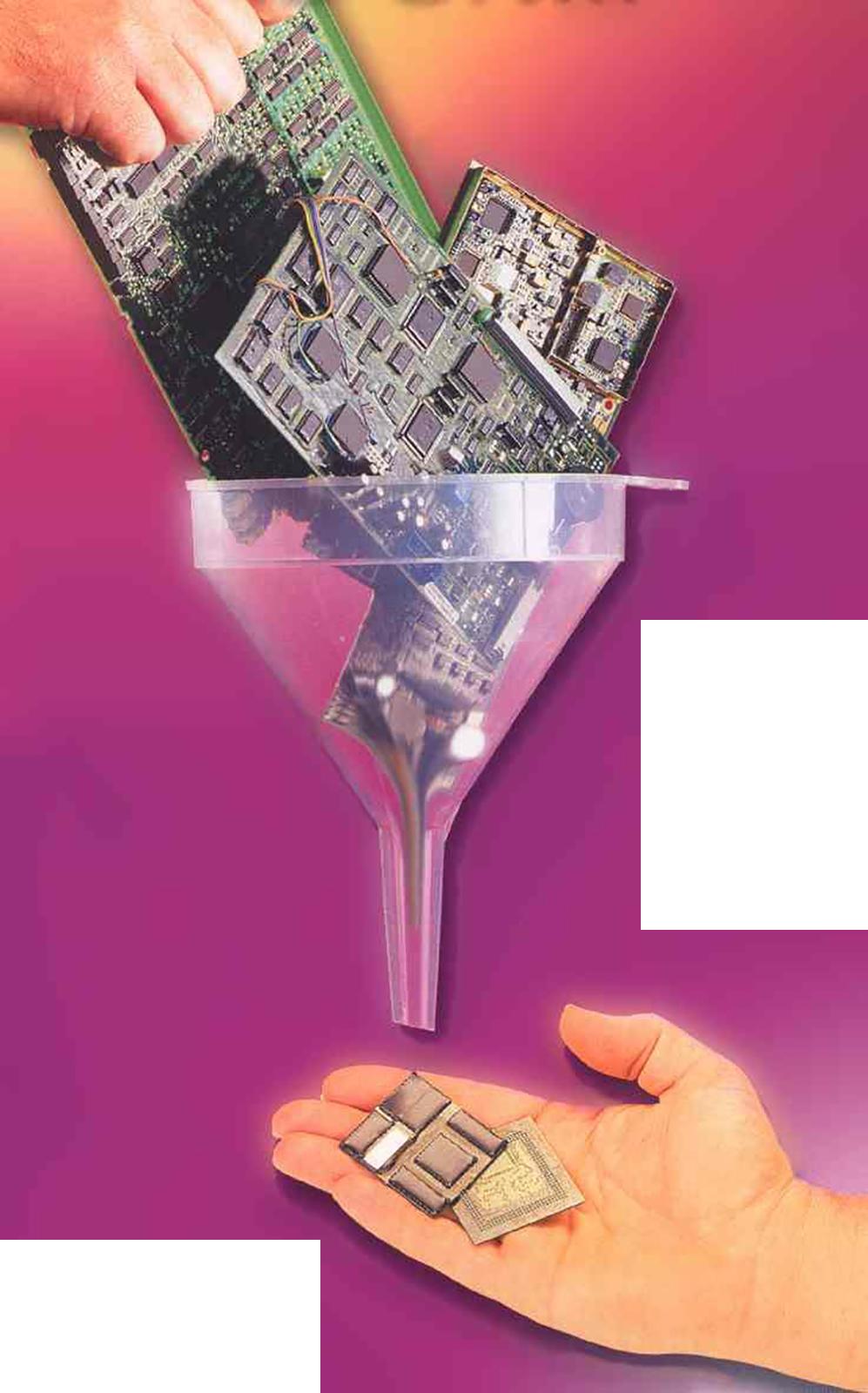 System Miniaturistion - Trichter